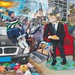 J.-P. MIKA. – « Les Tourments du monde », 2011