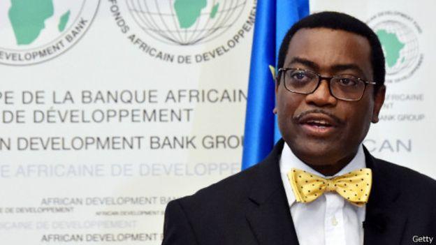 Akinwumi Adesina, président de la Banque africaine de développement, Abidjan, 2015